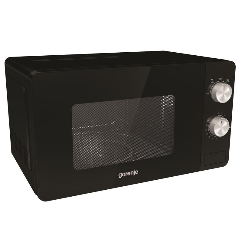 микроволновая печь gorenje черная