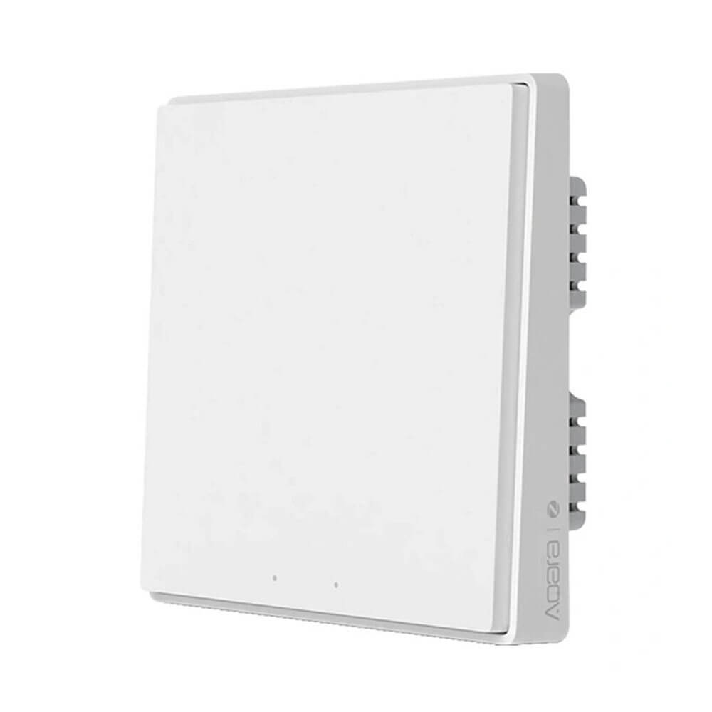 Умный выключатель Aqara Light Switch D1 (Single-Button) ZigBee 3.0 White (QBKG21LM/AK043CNW01)