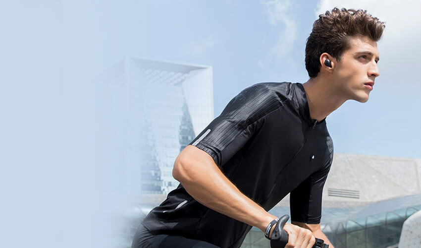 XIAOMI Haylou T16 TWS ANC Bluetooth Earbuds Black