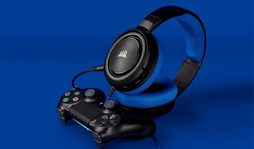 Гарнитура Corsair HS35 Blue (CA-9011196-EU)