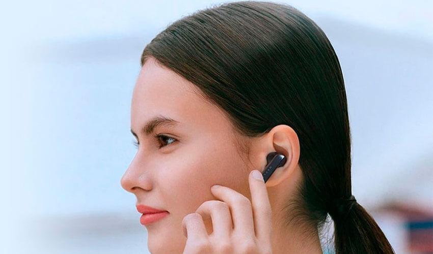 HAYLOU X1 TWS Earbuds Black -12