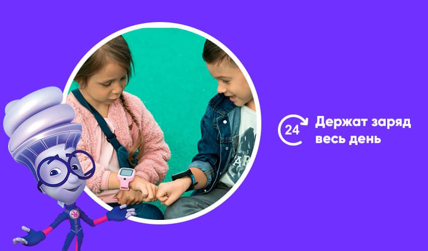 Детские часы-телефон с GPS/LBS/WIFI трекером FIXITIME LITE Black (ELFITL-BLK)