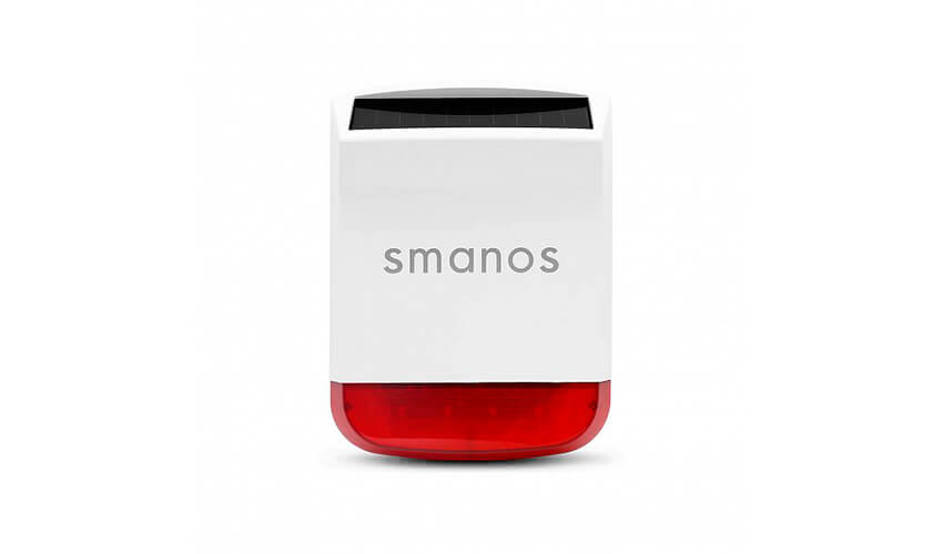 Smanos Wireless Solar-Powered Siren