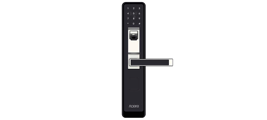 Aqara Door Lock Silver Right
