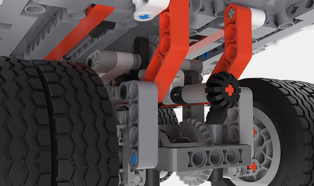 Xiaomi Mi Building Blocks Mine Truck