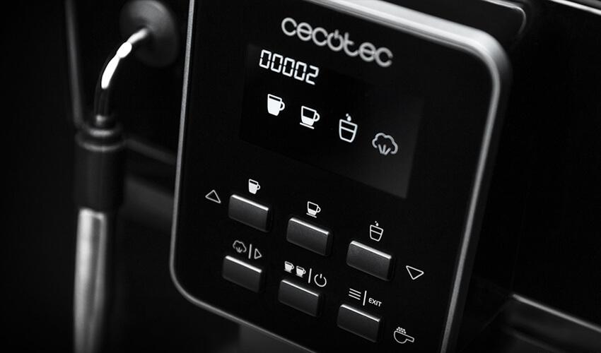 CECOTEC Cumbia Power Matic-ccino 6000 Serie Nera