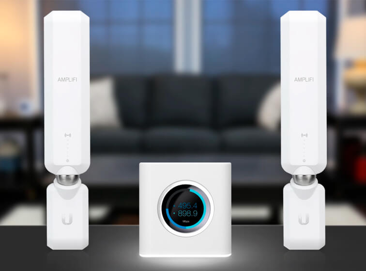 WiFi Mesh система Ubiquiti AmpliFi HD Mesh Router