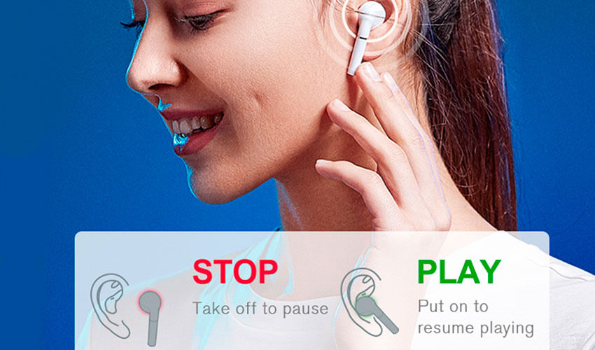 HAYLOU T19 TWS Bluetooth Headsets