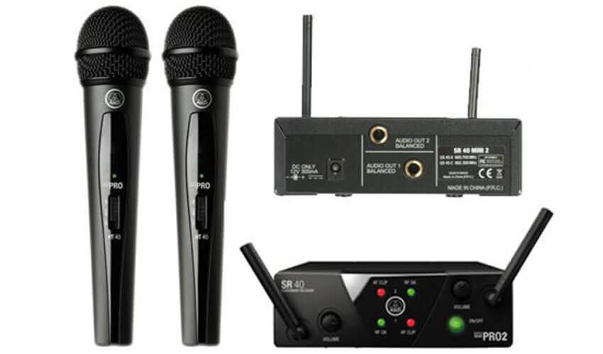 Радиосистема AKG WMS40 Mini Dual