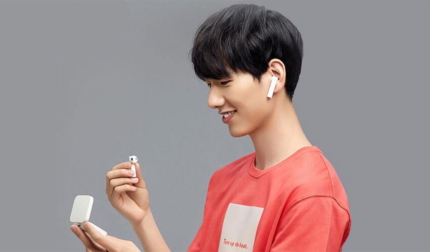 bluetooth Xiaomi Mi True Wireless Earphones 2 Basic White Оригинал! Вкладыши Bluetooth Белый