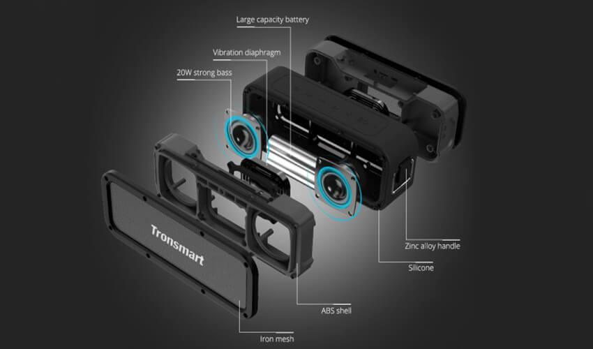 Акустическая система Tronsmart Element Force+ Black