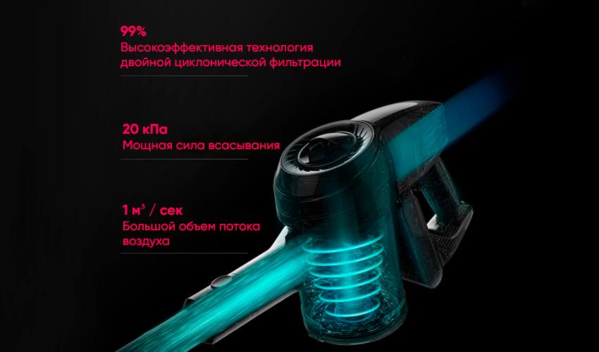 Handheld Wireless Vacuum Cleaner Silver JV53