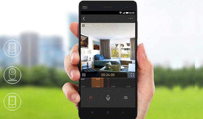 Yi Home Camera 720P (Международная версия) Black (YI-87002)