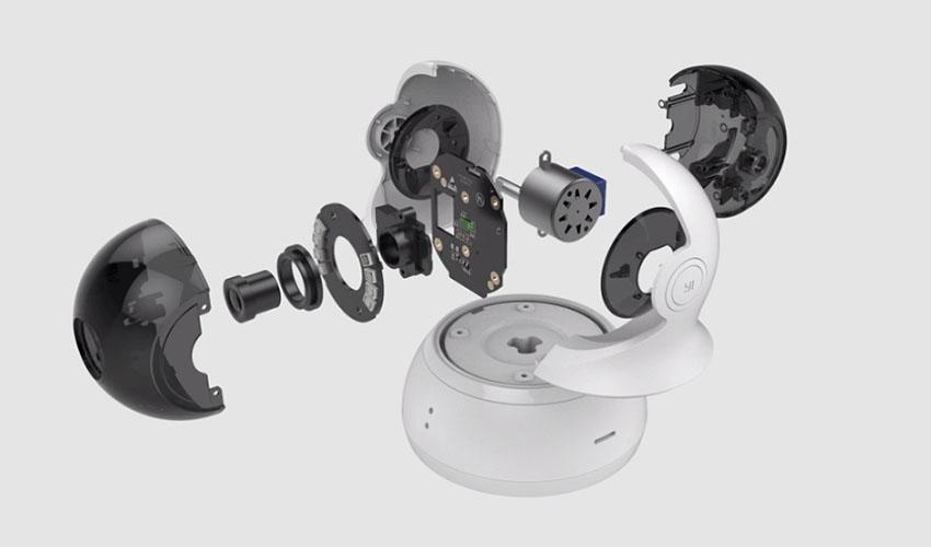 YI Dome Camera 360° (720P) (Международная версия) White (YI-93002)