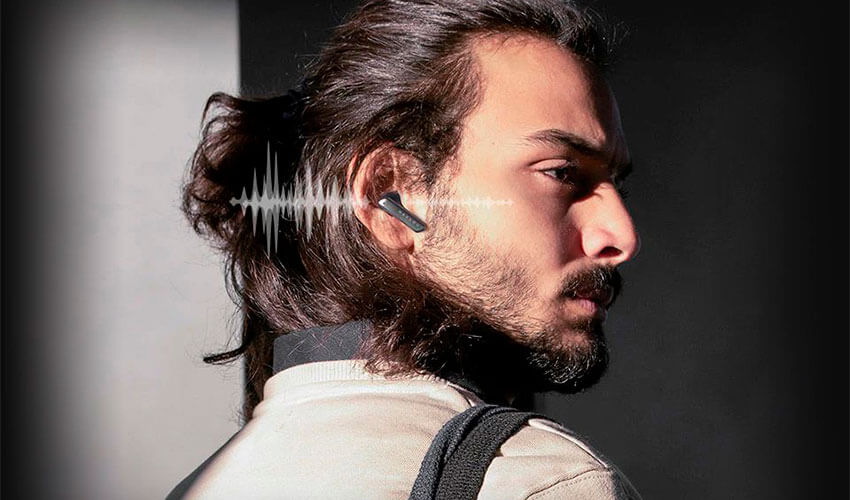 HAYLOU X1 TWS Earbuds Black -6
