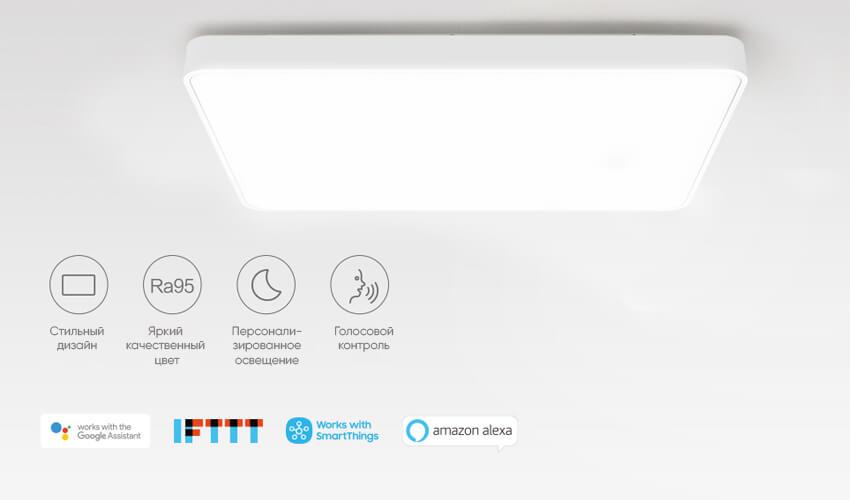 Потолочный смарт-светильник Yeelight Crystal Ceiling Light Pro