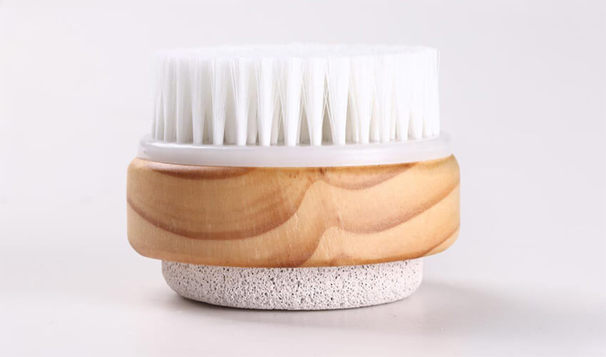 Qualitell Body Brush Double-side 2in1