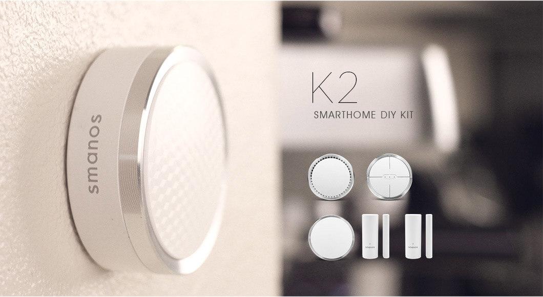 Smanos Smart Home DIY Kit (Z-WAVE) (K2)