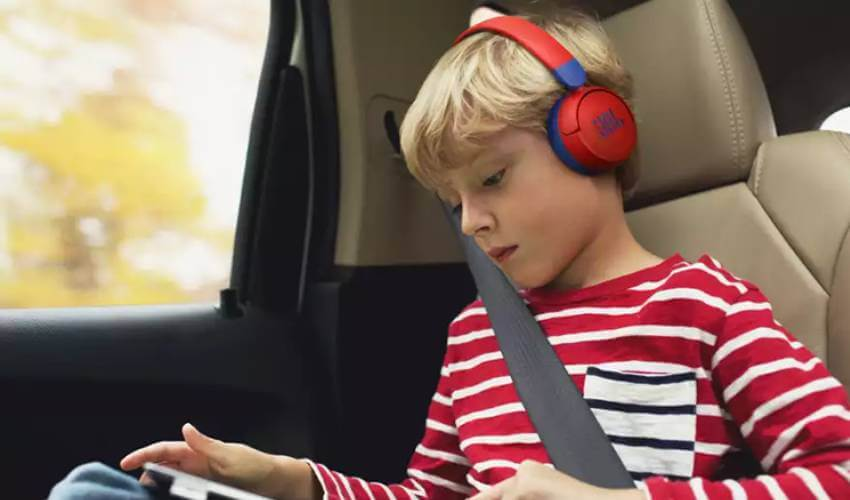Беспроводные наушники для детей JBL JR 310 BT