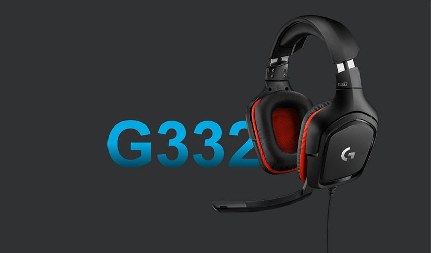 Гарнитура Logitech G332 Black