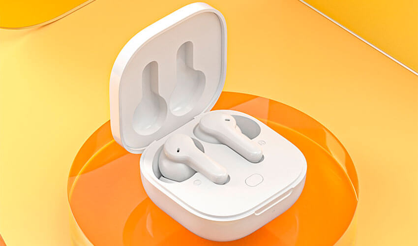 QCY T13 TWS Bluetooth Earbuds White -4