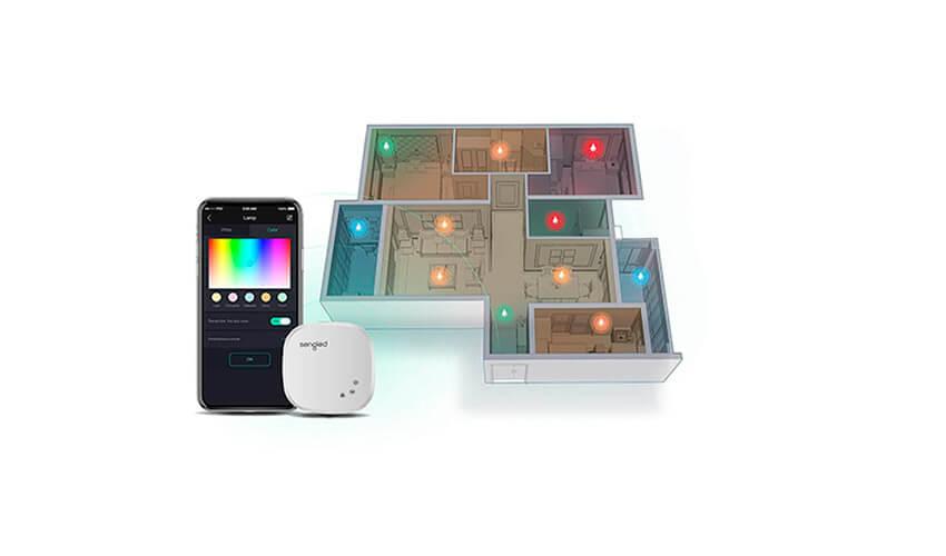 Набор из 2-х лампочек с контроллером Sengled Element Plus Starter Kit 10W Wi-Fi+ZigBee White