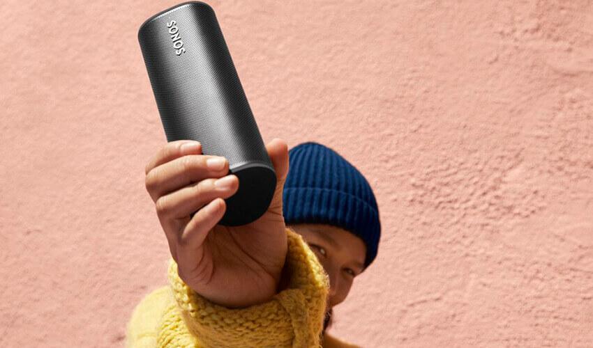 Портативная акустическая система Sonos Roam Black (ROAM1R21BLK)