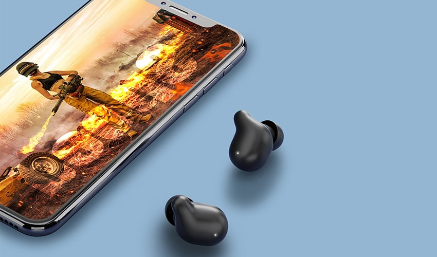 HAYLOU T15 TWS Bluetooth Earbuds Black