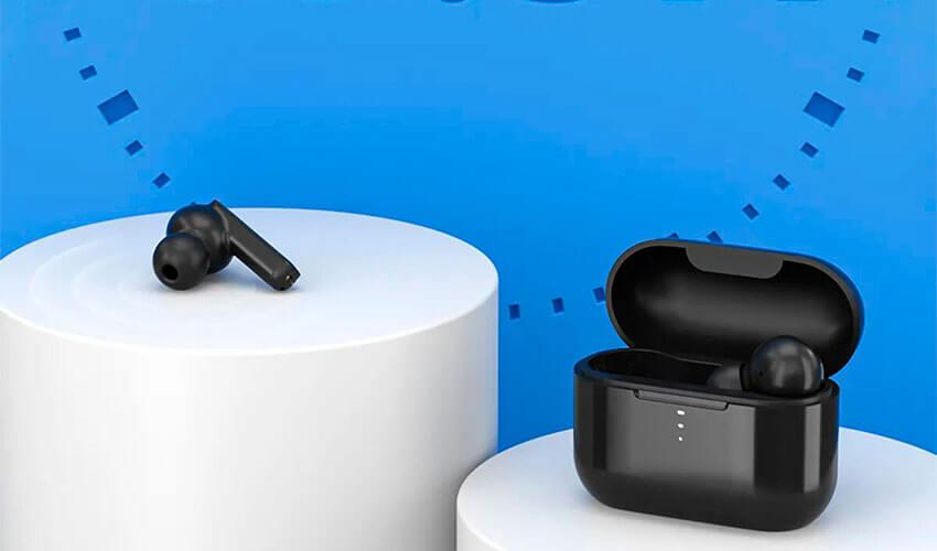 Наушники XIAOMI QCY T11 Dual-Armature TWS Bluetooth Earbuds Black