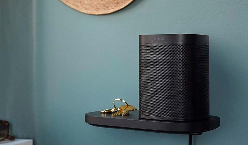 Полка Sonos Shelf для моделей One_One SL Black (S1SHFWW1BLK)