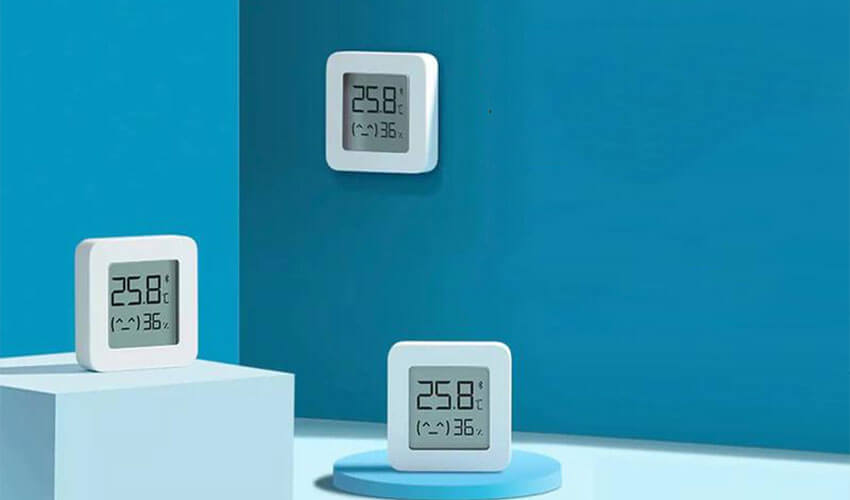 Xiaomi Mijia Smart Temperature & Humidity Display 2 LYWSD03MMC White