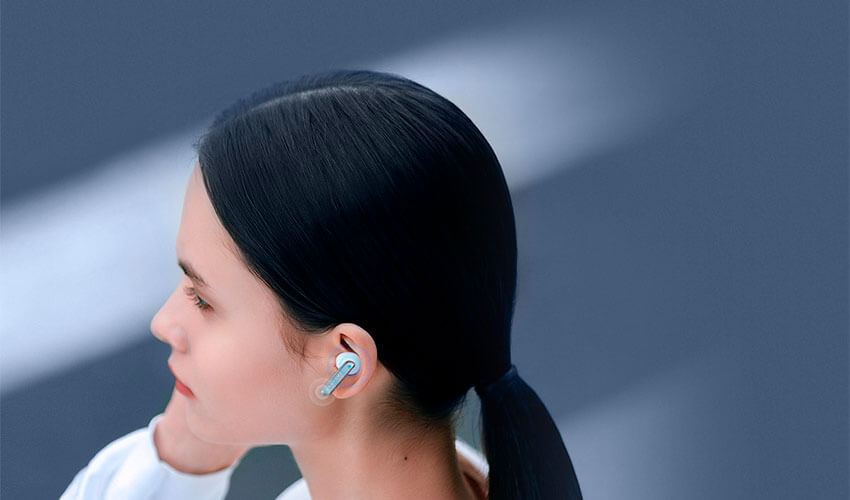 HAYLOU W1 TWS Earbuds Blue -7