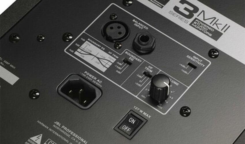 Студийный монитор JBL 308P MKII Black