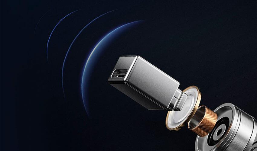 HAYLOU W1 TWS Earbuds Blue -2