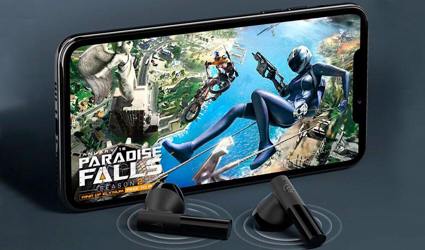HAYLOU GT6 TWS Bluetooth Earbuds Black -4