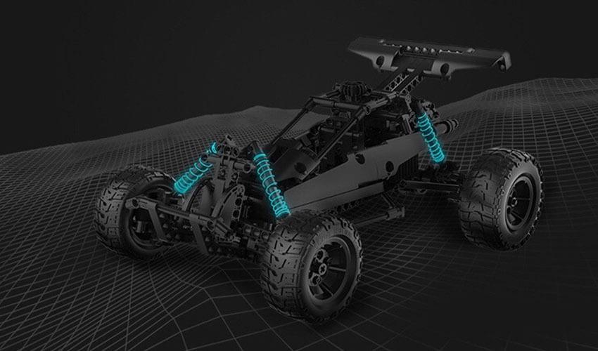 Desert Racing Car