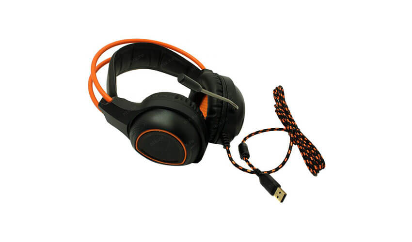 Наушники Canyon CND-SGHS7 Black/Orange