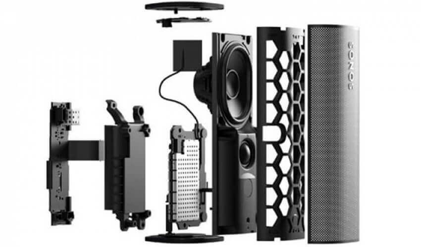Портативная акустическая система Sonos Roam Black (ROAM1R21BLK)Портативная акустическая система Sonos Roam Black (ROAM1R21BLK)