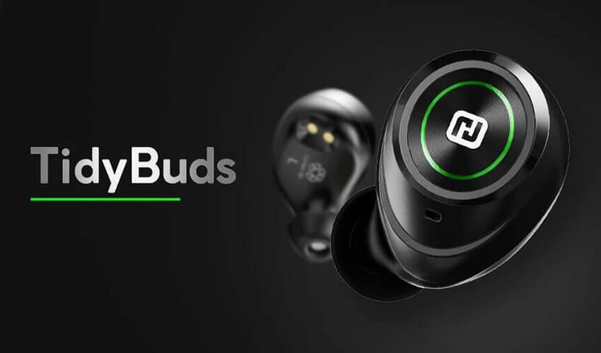 HIFUTURE TidyBuds TWS Wireless Earphones Black