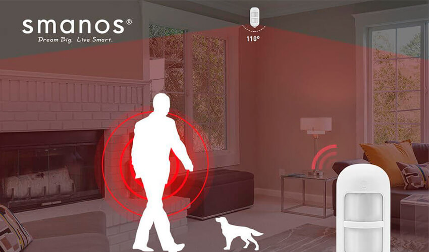 Smanos Wireless PIR Motion Detector