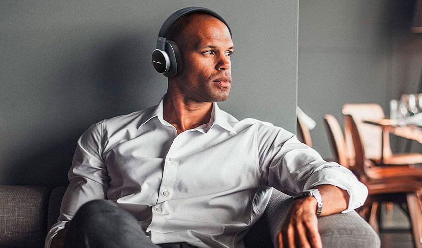 Harman/Kardon FLY ANC Wireless Over-Ear NC Headphones Black (HKFLYANCBLK)