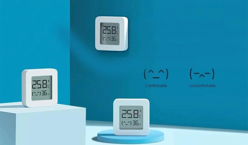 Xiaomi MiJia Temperature & Humidity Electronic Monitor 2 (LYWSD03MMC) (NUN4106CN)