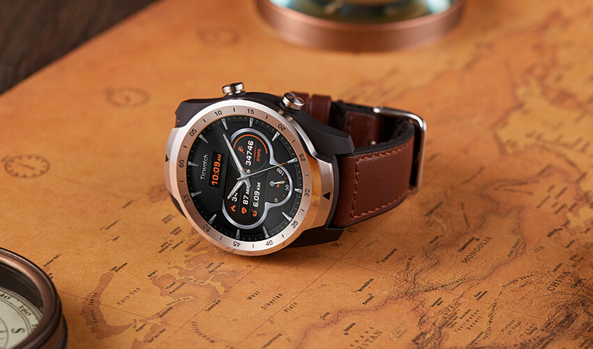 MOBVOI TicWatch Pro Hybrid Leather Strap 22mm