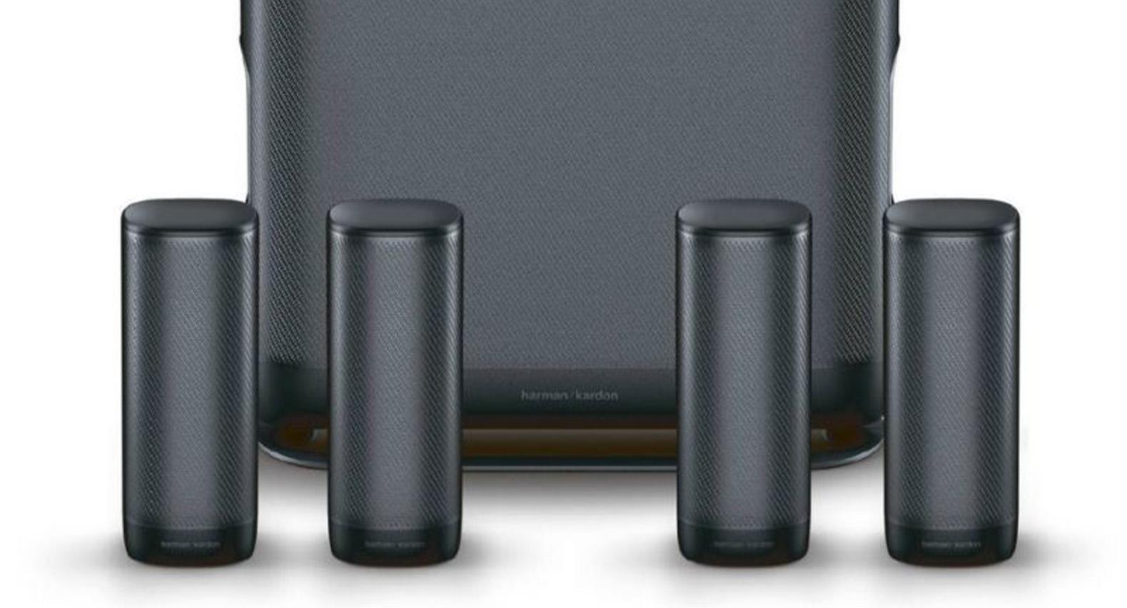 HarmanKardon Surround Wireless 5.1 Home Theater System Black