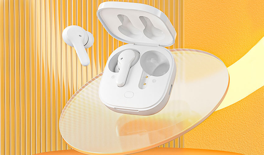 QCY T13 TWS Bluetooth Earbuds White -3