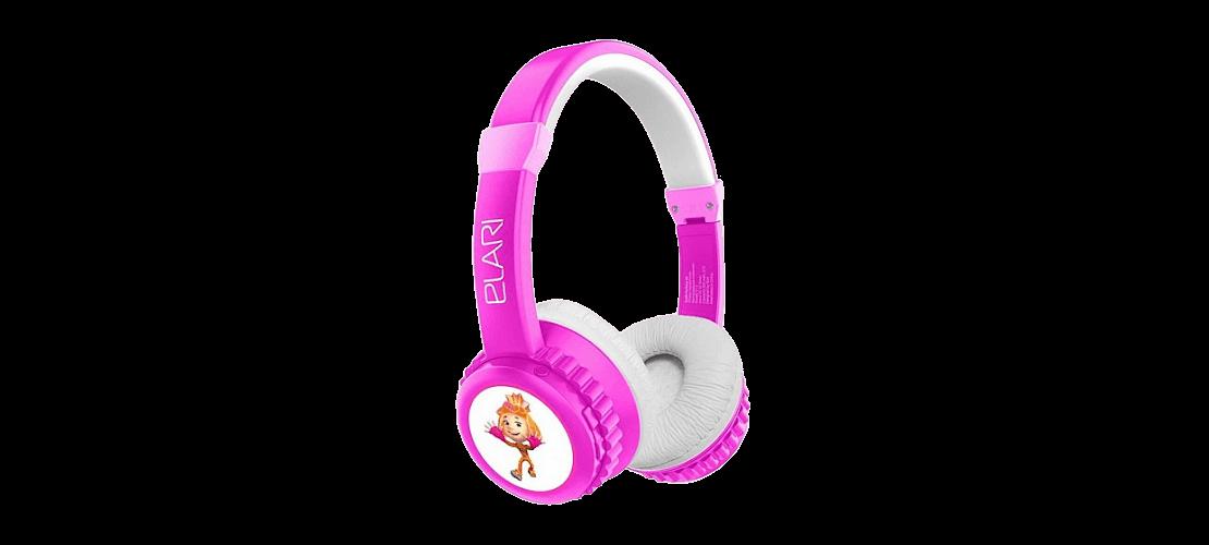 Розовые детские наушники