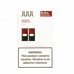 Картиридж JUUL Pods 2 pack Virginia Tobacco 0.7 ml with 5% nicotine (Табак)