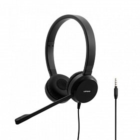 Гарнитура Lenovo Pro Stereo Wired VOIP Headset (4XD0S92991)