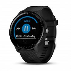 Спортивные часы GARMIN Vivoactive 3 Music Black with Stainless Hardware