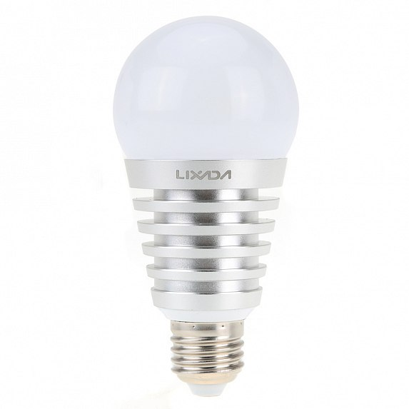 Смарт-лампочка SUPERLIGHT Bluetooth Smart LED light bulb for iOS/Android Silver (SU-750S)